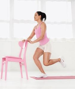One Leg Squat Exercise