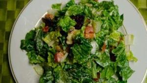 Vegan healthy salad