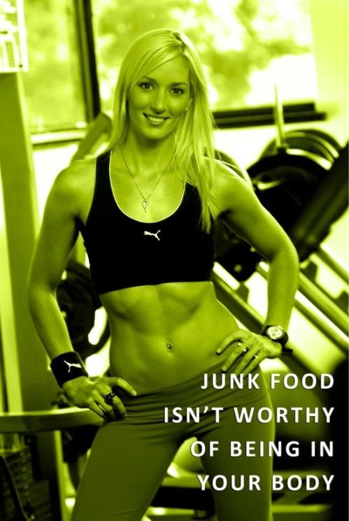 Junk food isn't worth it!