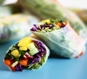 Summer Rolls for Meatless Monday!