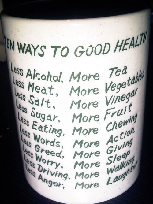 Healthy Living Tips!