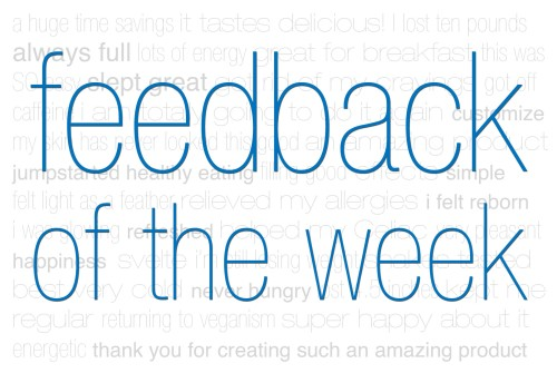 Feedback of The Week