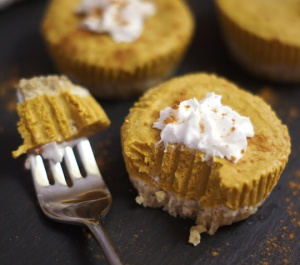 Raw Pumpkin Vegan Tart