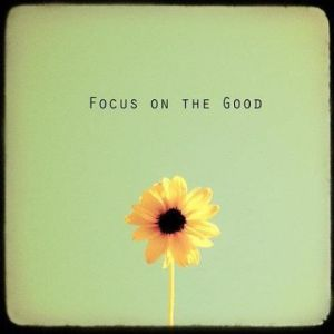 Thanksgiving is just around the corner! What good things are you focusing on?