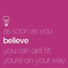 Believe it and you can achieve it!