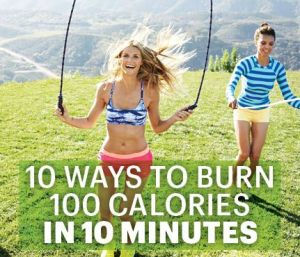 100 calories in 10 minutes