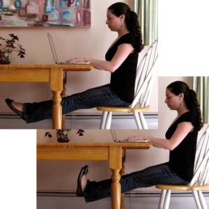 Exercise at your desk!